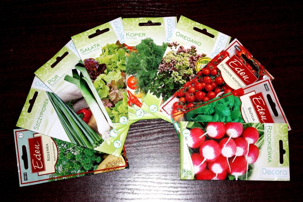 Nasiona ziół i warzyw