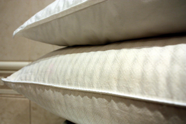 Poduszki z pierza po upraniu