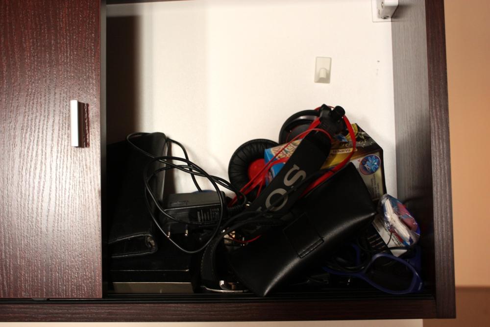 Bałagan w szafce
