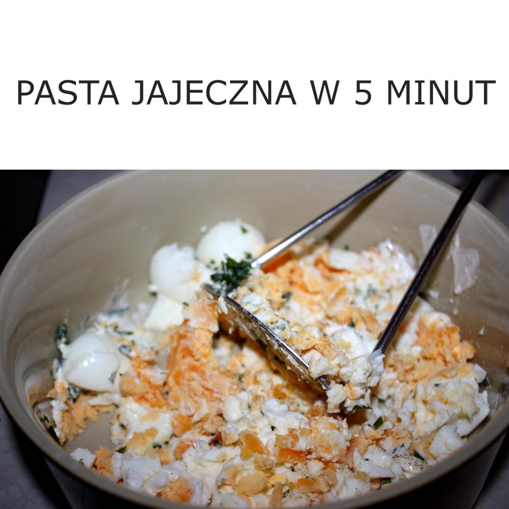 Pasta z jajek w 5 minut