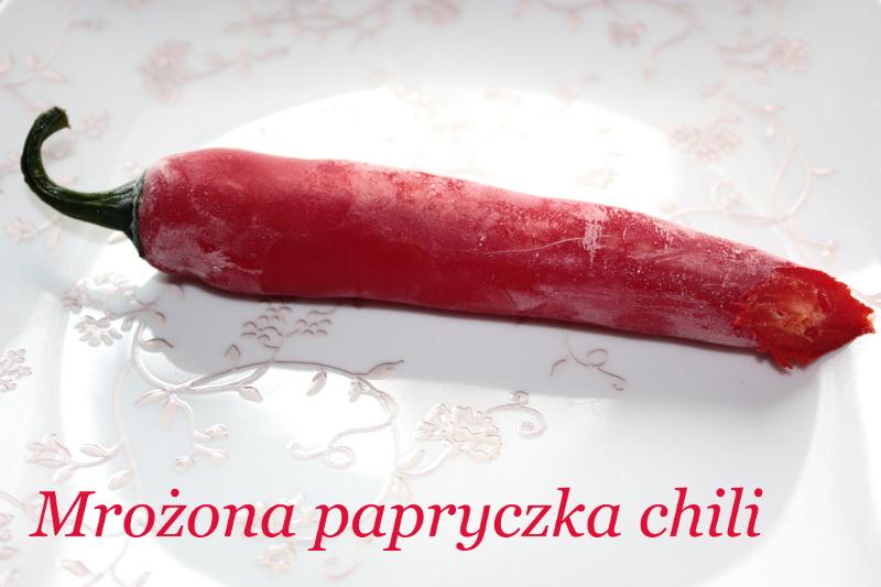 Mrożona papryczka chili